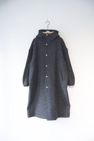 【ORDINARY FITS】HOODIE COAT wool/OF-T004