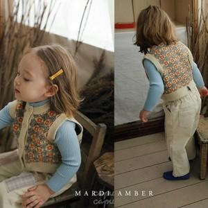 «先行予約割引»«Mardi Amber» Chloe Marron Vest マロンベスト