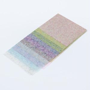 典具帖紙ふぶき染めセット(10枚入)