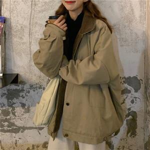 【アウター】トレンド合わせやすい万能レトロストリート厚くするジャケット24906110