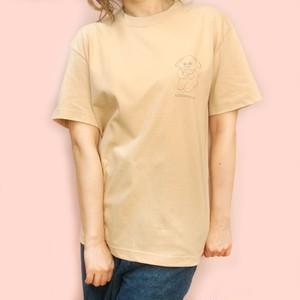 〈KEDAMONO Lab. 〉らくがきTシャツ むぎちゃん