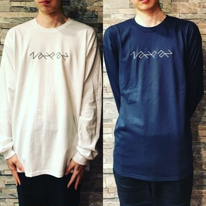 zanpan ロゴ刺繍 Long sleeve TEE