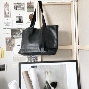 172ABG01 Leather tote wide 'adjustable shoulder' トートバッグ