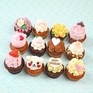 ホワイトデー限定カップケーキ全種類12個セット
