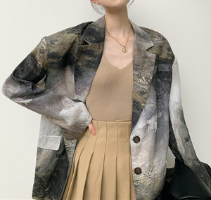 Picture printed design jacket