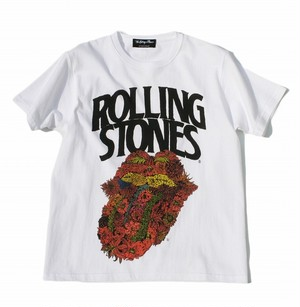The Rolling Stones x Hirotton 'Flower' T-shirts