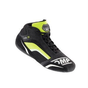 IC/813184 KS-3 SHOES ANTH./BLACK/FLUO YELLOW