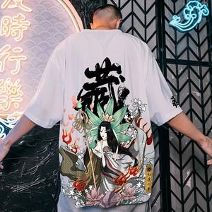 【トップス】ペアルック三国人物シリーズストリート系半袖Tシャツ28950024
