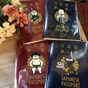 ジャパニーズスタイル パスポート風ノート