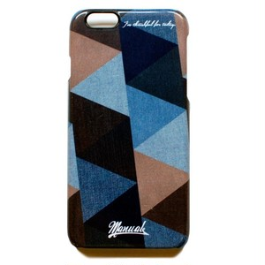 "MANUAL iPhone Case ""TRIANGLE"""