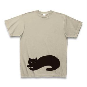 ネコロブネコ Tシャツ シルバーグレー