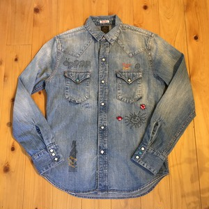 "Gypsy&Sons x Mr.HELLO ""DENIM  REMAKE SHIRTS"""