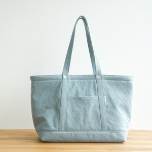CANVAS TOTE FL / ICE GRAY