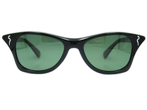 "Shady Spex ""MEOW"" sunglasses, Shiny Black w/Polarized G15 lenses"