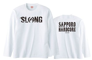 S.C.H.C LOGO : 2【LONG SLEEVE : 白ボディ】