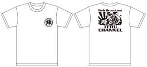テルチャンネル Tシャツ(モノクロタイプ)