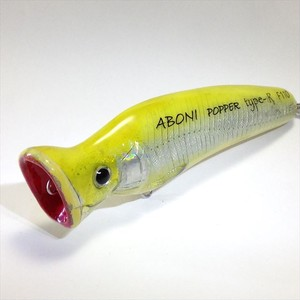 ABONI POPPER type-R F110(Ayu Yellow)