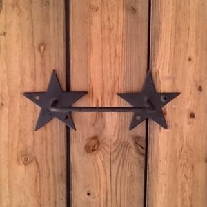 ☆アウトレット☆1点限り☆星のタオルハンガー17.5cm