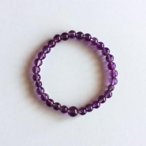 腕輪 ブレス 紫水晶 共仕立
