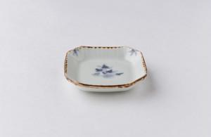 村山朋子 シノギク角豆皿