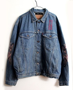 GOBLIN LAND × LONELY論理 MV用 SPECIAL CUSTOM DENIM JK 非売品