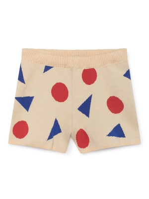 ボボショセス(BOBO CHOSES) -pollen knitted shorts [2-3Y/4-5Y/6-7Y]