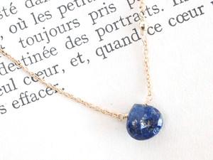 14KGF Lapis Lazuli Mirror Necklace