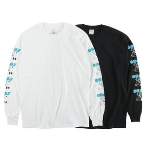 0867 / Long Sleeve T-Shirt / Jersey Cow / Logo