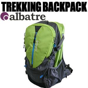 ALBATRE(アルバートル)トレッキング バックパック ライムグリーン
