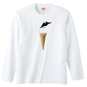 [ロングスリーブTシャツ] cool biz penguin 2