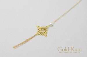 Gold-Knot アラベスクペンダント