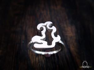 「Shachihoko Ring」 お城のシンボル、鯱のシルバーリング