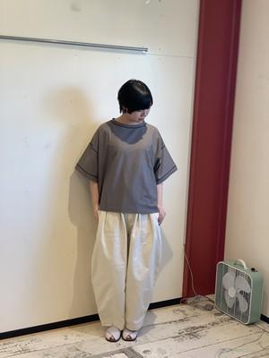ichi ステッチTシャツ