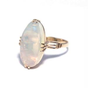 Vintage Japanese Ring - K18 Opal #12