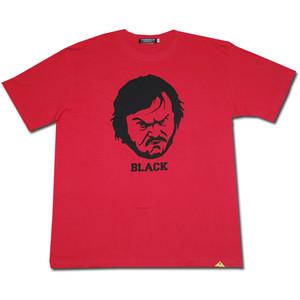 Mr BLACK Tシャツ【フレンチレッド】