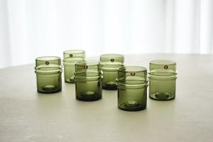 iittala Pisararengas shot glass with box(Timo Sarpaneva)