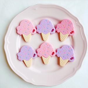 シリコン歯固め〔ice cream〕