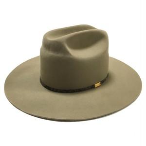 Resistol 4X Vintage Longbrim Beaver Hat Beige 7 1/2