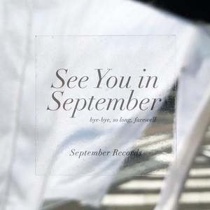 ステッカー2種セット【ロゴ & See You in September】