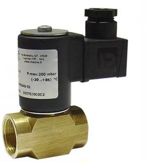 ガス電磁遮断弁 EVOF02-008 AC200V 口径15A