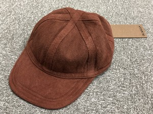 BEAUGAN 6 PANEL HAT RED CLAY