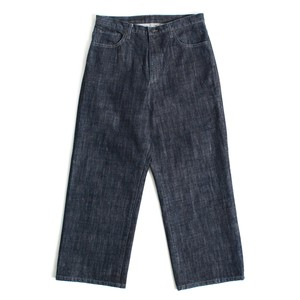 Enharmonic TAVERN x FUJIYAMA Wash  Denim Wide Pants -Indigo <LSD-AH1P5>