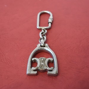 CELINE Logo Key Charm