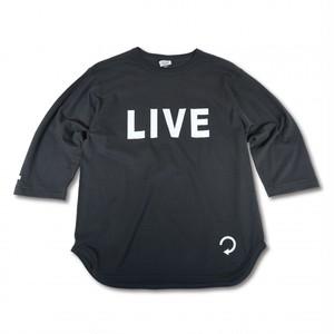 EVILACT(イーブルアクト) / Backwards 3/4 sleeve Baseball T's(sumikuro)