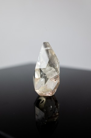 Faceted Quartz Pendant - 003