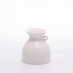 asanomi 花器2000 白 【陶器 一輪挿し】20210621-04