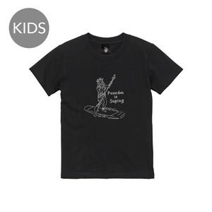 Poseidon 半袖 黒 KIDS