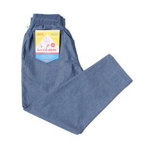 COOKMAN CHEFPANTS 「Chambray」 Blue