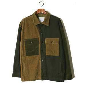 Double Lapel Shirt JKT -olive <LSD-AI3S2>