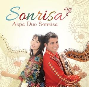 アルパデュオソンリーサ CD 『Sonrisa』